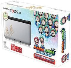 Nintendo 3DS Silver Mario & Luigi Limited Edition