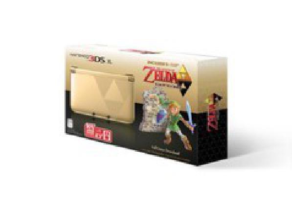 Nintendo 3DS XL Zelda Link Between Worlds Limited Edition