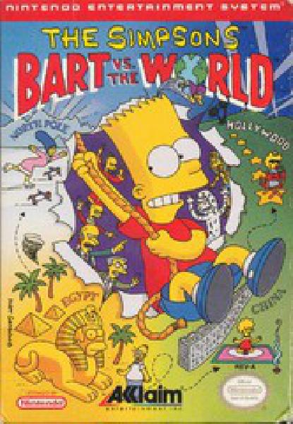 The Simpsons Bart vs the World
