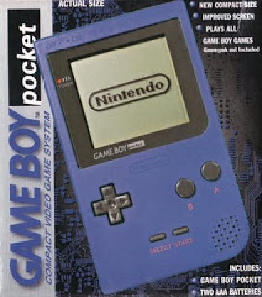 Nintendo Game Boy Pocket - Blue