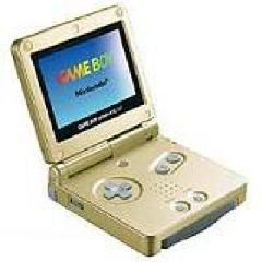 Gold Gameboy Advance SP