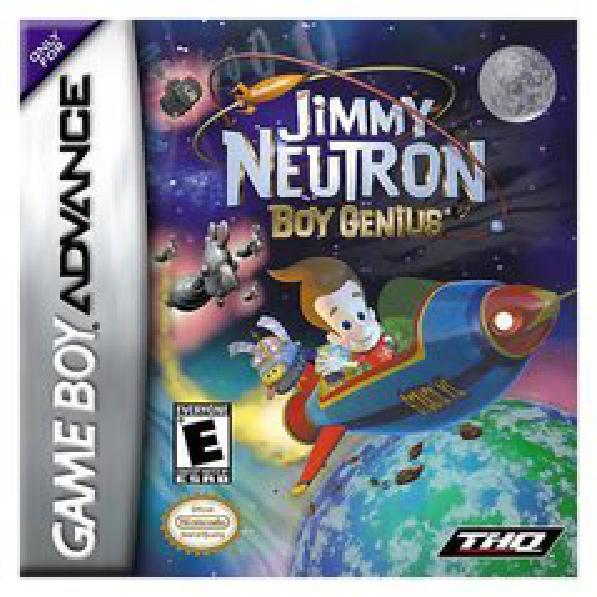 Jimmy Neutron Boy Genius - Video Games » Nintendo » GameBoy