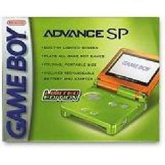 Lime and Orange Gameboy Advance SP