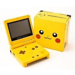 Pikachu Gameboy Advance SP