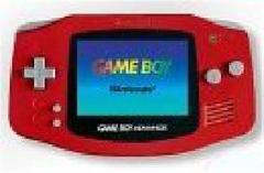 Red Gameboy Advance System
