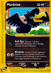 Murkrow - 79/144 - Common
