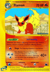 Flareon - 8/144 - Rare on Channel Fireball
