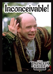 Legion Sleeves Princess Bride-Inconceivable
