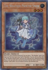 The Weather Painter Snow - SPWA-EN029 - Secret Rare - 1st Edition