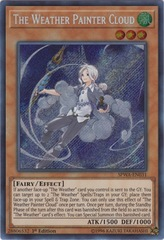 The Weather Painter Cloud - SPWA-EN031 - Secret Rare - 1st Edition
