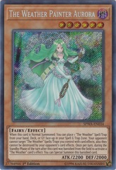 The Weather Painter Aurora - SPWA-EN034 - Secret Rare - 1st Edition