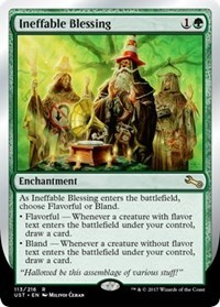 Ineffable Blessing (A) (Flavour/Bland)