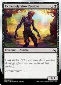Extremely Slow Zombie (A - Brrrrrrrrrrrr)