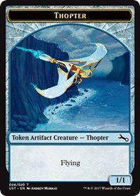 Thopter Token - Foil