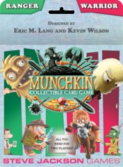Munchkin Collectible Card Game - Ranger & Warrior Starter Set