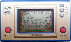 Game & Watch: Fire (Wide Screen Series)