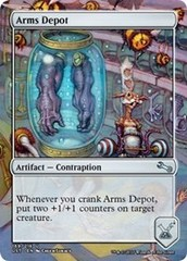 Arms Depot on Channel Fireball