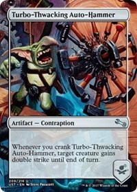 Turbo-Thwacking Auto-Hammer
