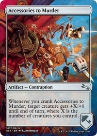 Accessories to Murder - Foil