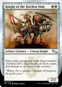 Knight of the Kitchen Sink (A) - Foil
