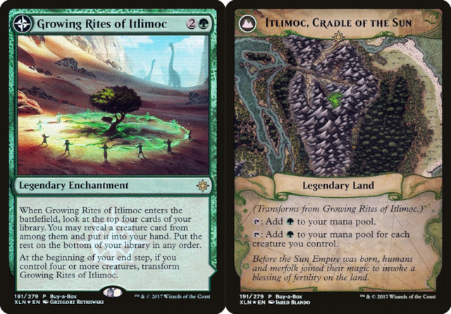 Growing Rites of Itlimoc // Itlimoc, Cradle of the Sun - Treasure Chest Promo