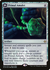 Primal Amulet // Primal Wellspring - Treasure Chest Promo