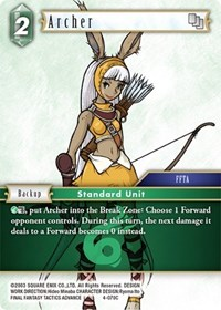 Archer - 4-070C - Foil