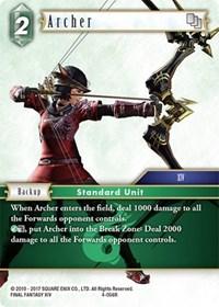 Archer - 4-056R - Foil