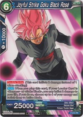 Joyful Strike Goku Black Rose (Non-Foil Version) - P-015 - PR