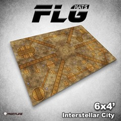 Flg Mats Interstellar City 4X6