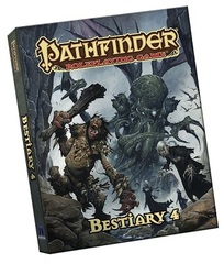Pathfinder Roleplaying Game: Bestiary 4 (Pocket Edition)