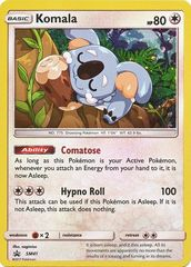 Komala - SM41 - SM Black Star Promo on Channel Fireball