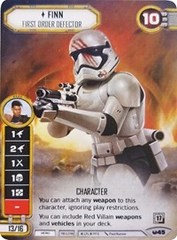 Finn - First Order Defector (Alternate Full Art)