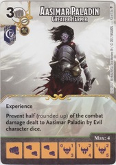 Aasimar Paladin - Greater Harper (Card Only)