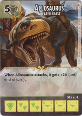 Allosaurus -  Greater Beast (Card Only)