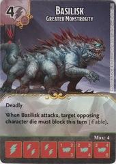 Basilisk - Greater Monstrosity (Card Only)