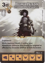Aasimar Paladin - Lesser Order of the Gauntlet (Die and Card Combo)