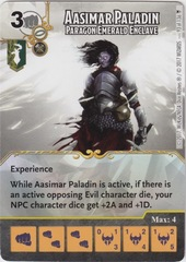 Aasimar Paladin - Paragon Emerald Enclave (Die and Card Combo)