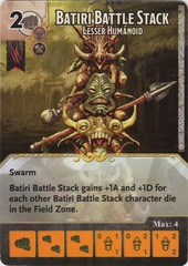 Batiri Battle Stack - Lesser Humanoid (Die and Card Combo)