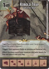 Kobold Trap - Greater Trap (Die and Card Combo)