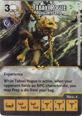 Tabaxi Rogue - Paragon Harper (Die and Card Combo)