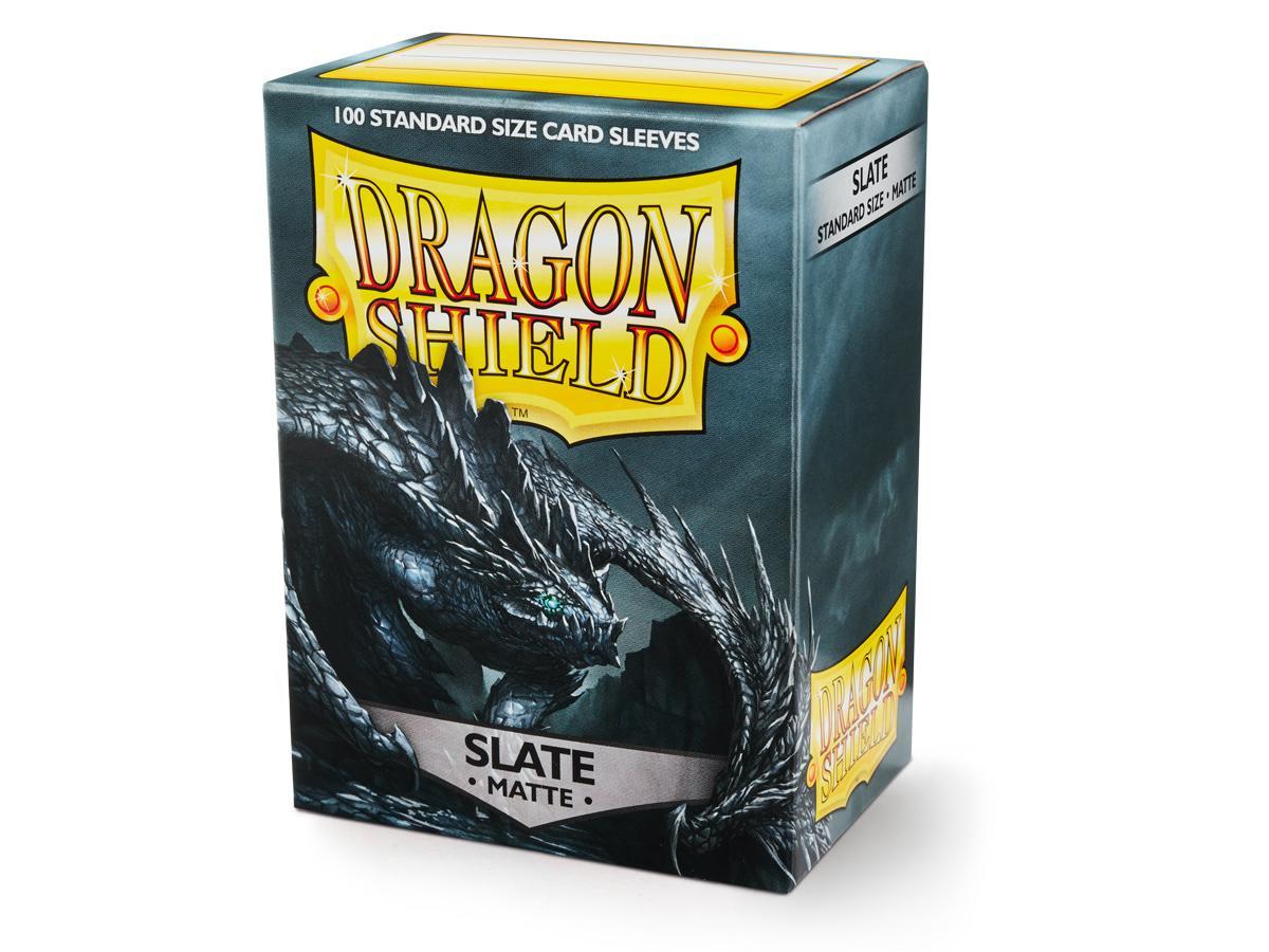 Dragon Shield Sleeves: Matte Slate (100 Standard Size)