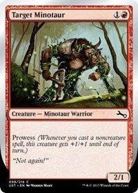 Target Minotaur (D)