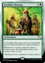 Ineffable Blessing (C - White/Silver-Bordered) - Foil