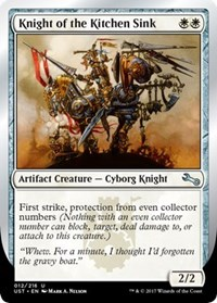 Knight of the Kitchen Sink (B) - Foil