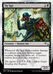 Sly Spy (B - Facing Left) - Foil