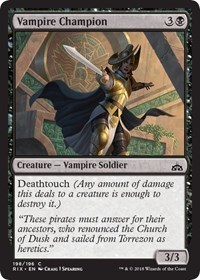 Vampire Champion - Planeswalker Deck Exclusive