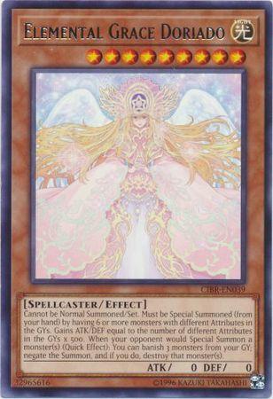 Elemental Grace Doriado - CIBR-EN039 - Rare - Unlimited Edition