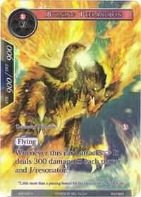 Burning Pteranodon (Full Art) - ADK-030 - U