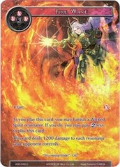 Fire Wave (Full Art) - ADK-043 - U